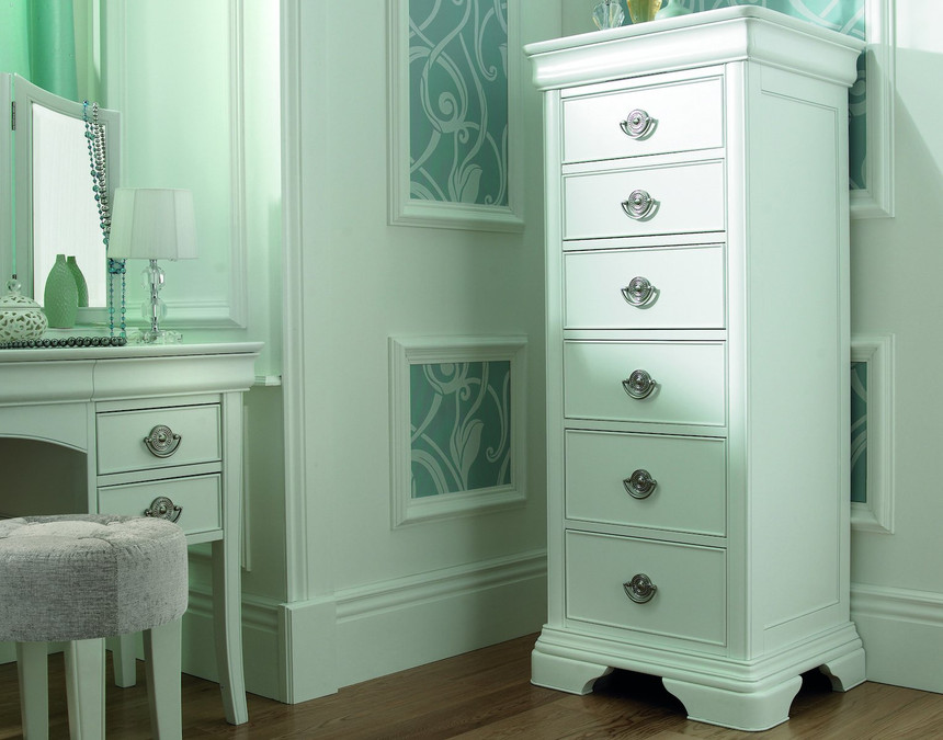 Chantilly 6 Drawer Chest of Drawers
