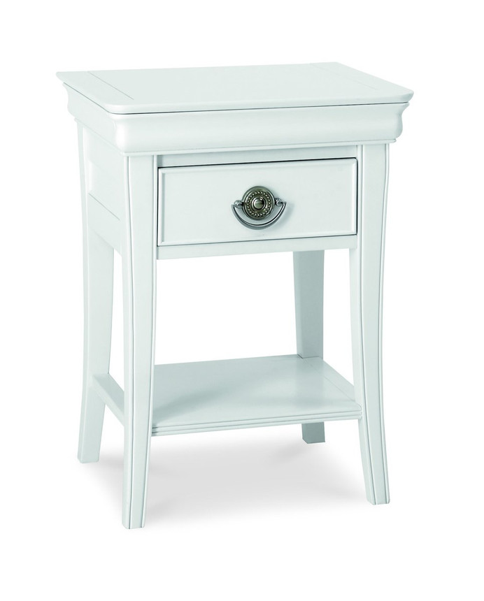 Chantilly 1 Drawer Bedside Table