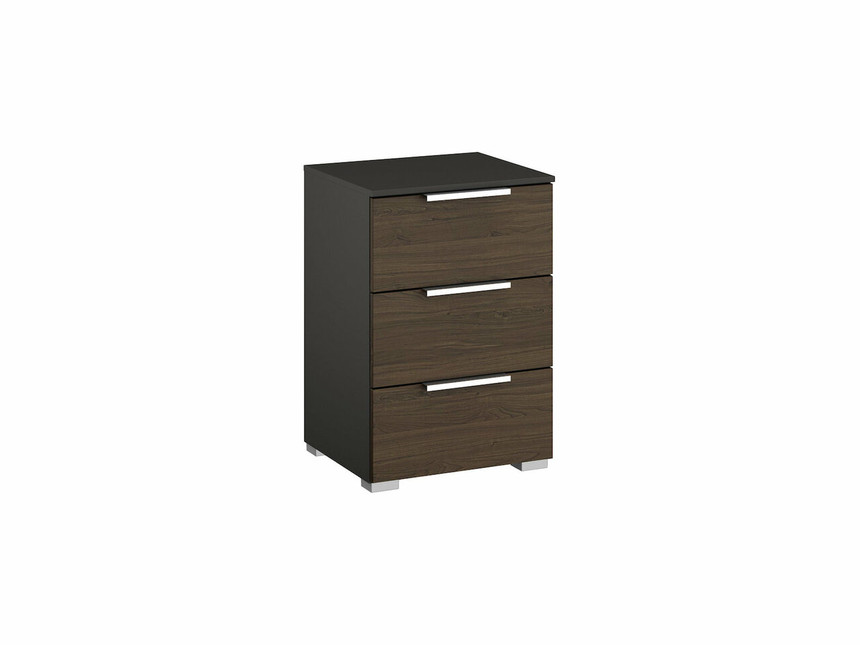 Ravenna 3 Drawer Bedside Table