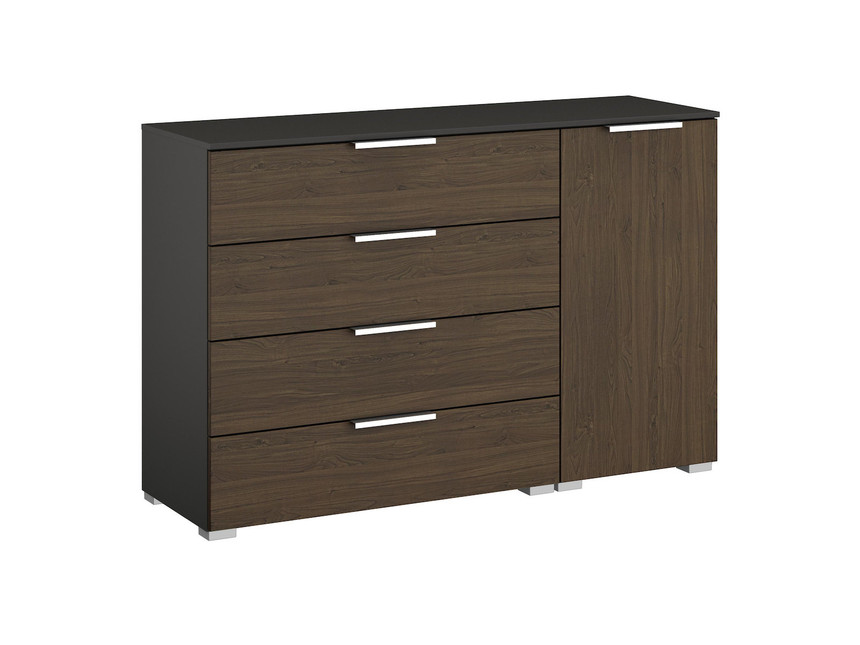 Ravenna 4 Drawer + 1 Door Chest of Drawers