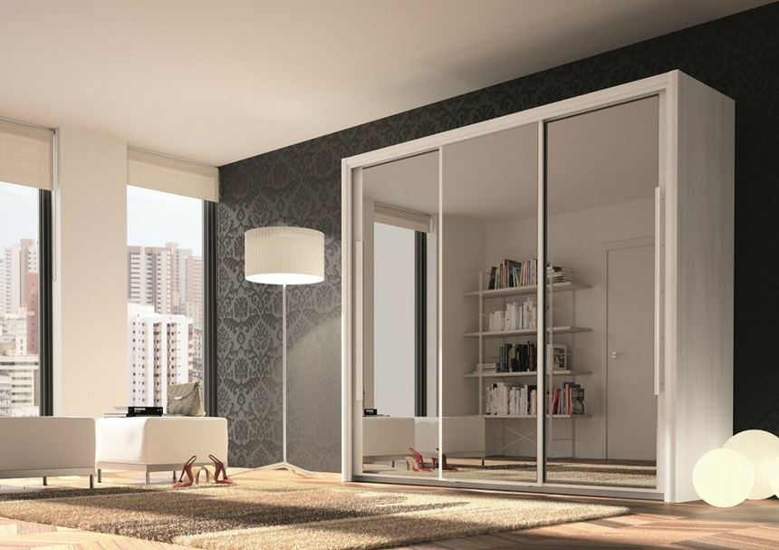 Bergen 3 Door Sliding Wardrobe