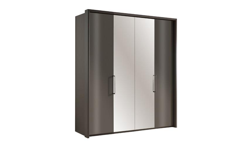 Sicily 4 Door Bi-Fold Wardrobe + External Lights