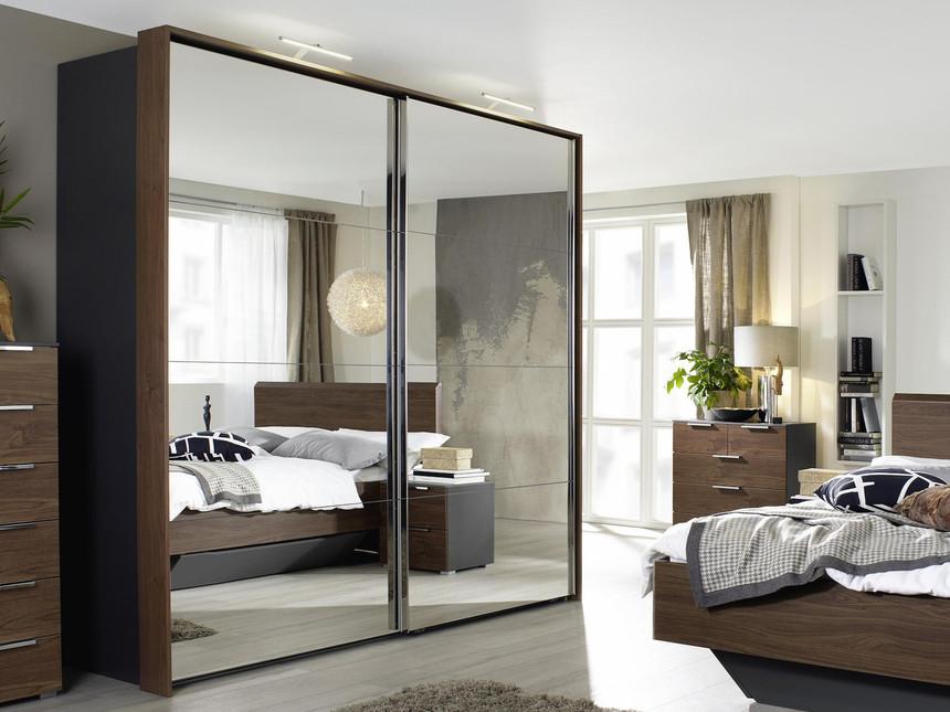 Ravenna Sliding Wardrobe 2 Mirrors