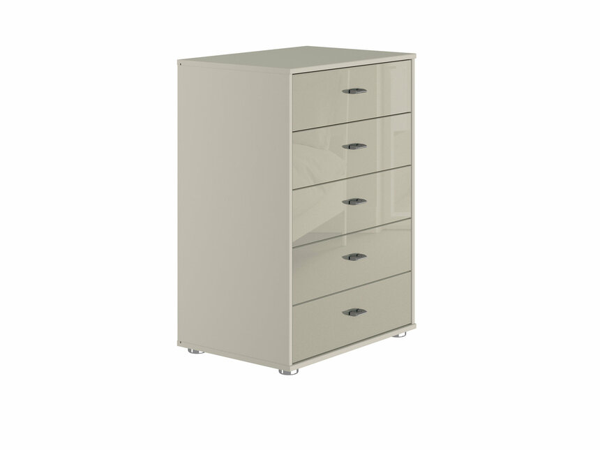 Palma 5 Drawer Narrow Chest of Drawers