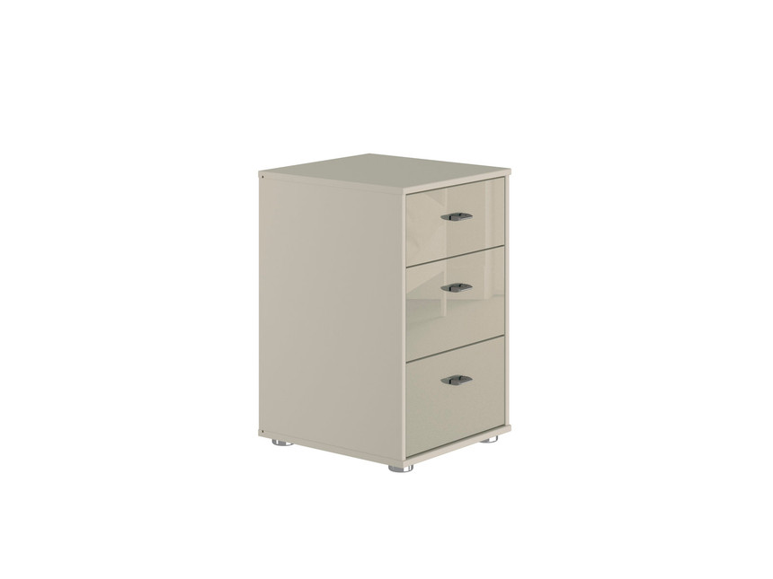 Palma 3 Drawer Bedside Table
