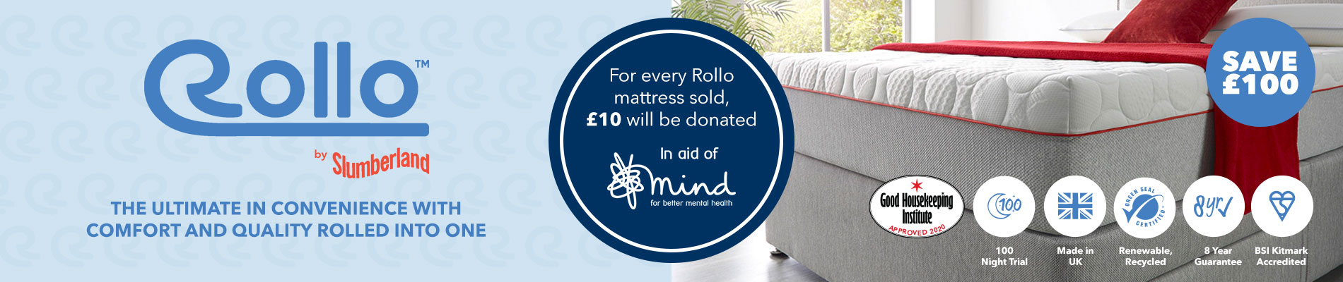 Shop All Slumberland Rollo Mattresses