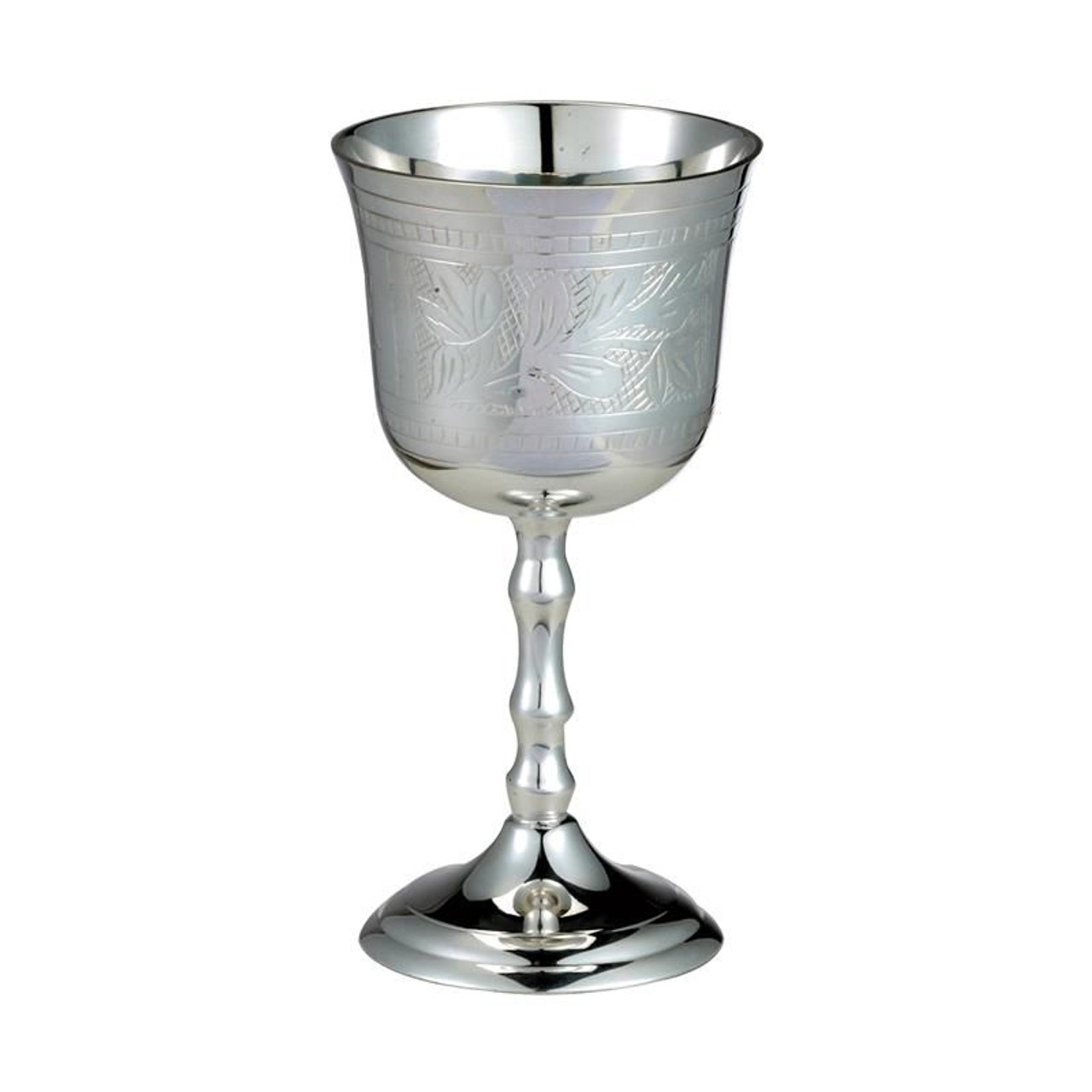 Silvertone Kiddush Cup With Star Of David Jewish Gift Jewish Home Rite Lite Judaica Items At Benny S Judaica