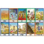 10 Plagues Jewish Classroom Picture Set