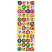 Purim Symbols Sticker  - Jewish Stickers