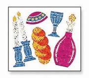 Shabbat Prismatic Stickers