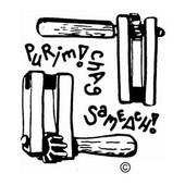 Purim Gragger Square Jewish Rubber Stamp