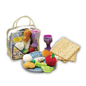 Deluxe Passover Plush Set With 3 Plush Matzah