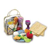 Deluxe Passover Plush Set With 3 Plush Matzah