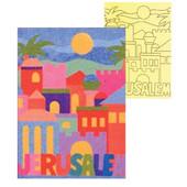 Jerusalem Self-Adhesive Sand Art Boards