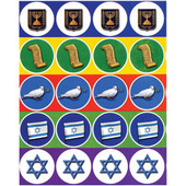 Israel Atzmaut Symbols Stickers