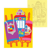 Torah Sand Art  Jewish Craft Project