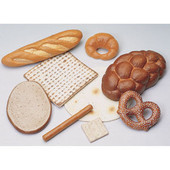 Challah, Matzah and Bread Set