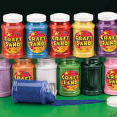 Large Assorted Craft Sand Bottles