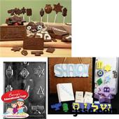 Jewish Assorted Chocolate/Plaster Molds
