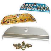 Metal Hanukkah (Chanukah) Menorahs for Decoration, all parts are non-flammable