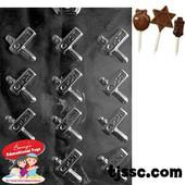 Purim Graggers Chocolate/Plaster Molds