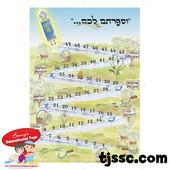 Sefirat Ha'Omer Steps Paper Poster