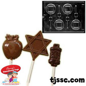 Torah Lollipop Chocolate Molds