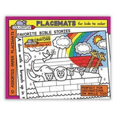 Noah's Ark Place-mats for coloring