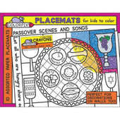 Passover Placemats for coloring