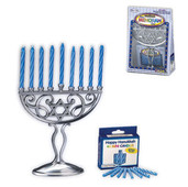 Mini Aluminum Chanukah Menorah