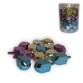 Metallic Plastic Dreidels