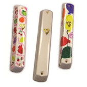 Plastic Mezuzah Cases for Decoration -