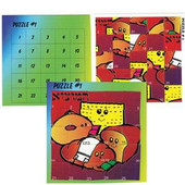 Cheerful Blessings Puzzle stickers