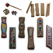 DIY Mezuzah Cases Craft Project for Decoration