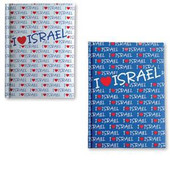 Hard Cover Note books I love Israel