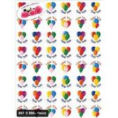 Scented Mazal Tov Stickers