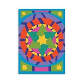 Star of David Sand Art SINGLE Board with Sand