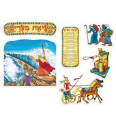 Exodus from Egypt Passover Sign Set