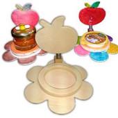 Wood Rosh HaShanah Honey Dish Holder Project