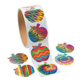 Apples Stickers Roll
