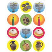 Hanukkah (Chanukah) Photo Stickers