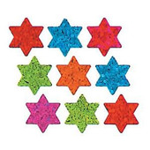 Star of David Prismatic Stickers