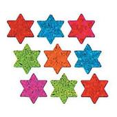 Star of David Prismatic Stickers