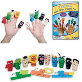 Ten Plagues Foam Finger Puppet Kit