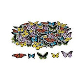 Realistic Butterfly Self-Adhesive Shapes.