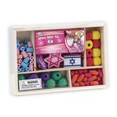 Jewish Symbols Wood Beads Kit