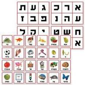 Hebrew Alef Bet Lotto - Ot Potachat (Opening Letter)