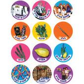 Sukkot Stickers - Jewish Stickers