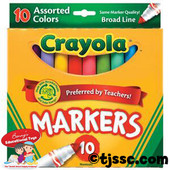 Crayola 10 pc. Marker Set