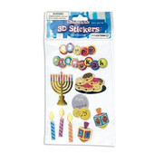 Chanukah 3D Stickers